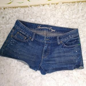 AMERICAN Eagle,  live your life shorts...sz8